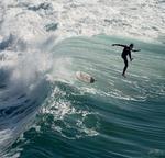 dekomposerad surfingerfarenhet
