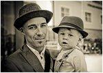 Min broder och hans son.