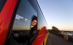 I bussen