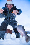 Rödingsfiske i Jämtland