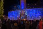 Ljusspel ersätter fyrverkeri - blått