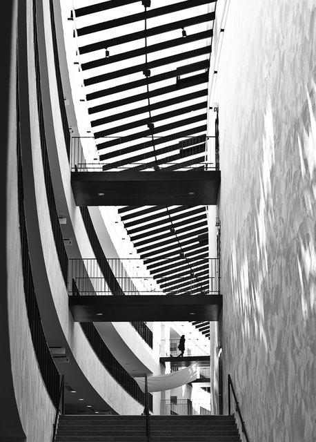 Arkitektur i svart och vitt