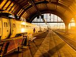 Morgonrusning på Centralstationen