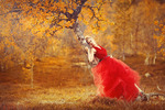 Lady in red III