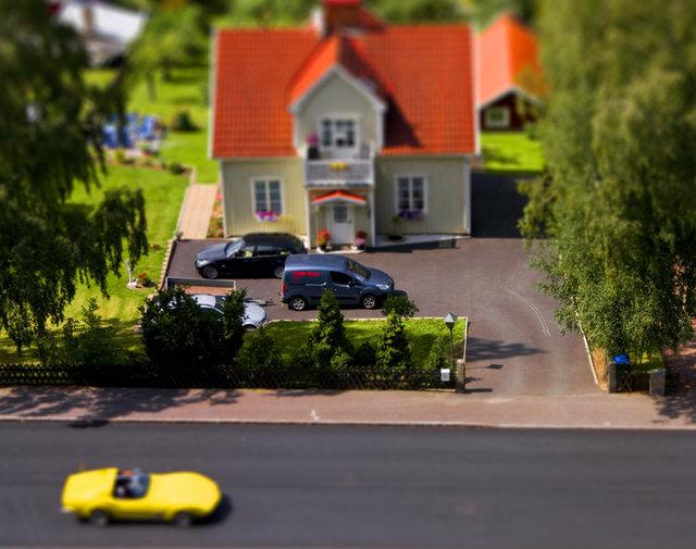 Den gula sportbilen