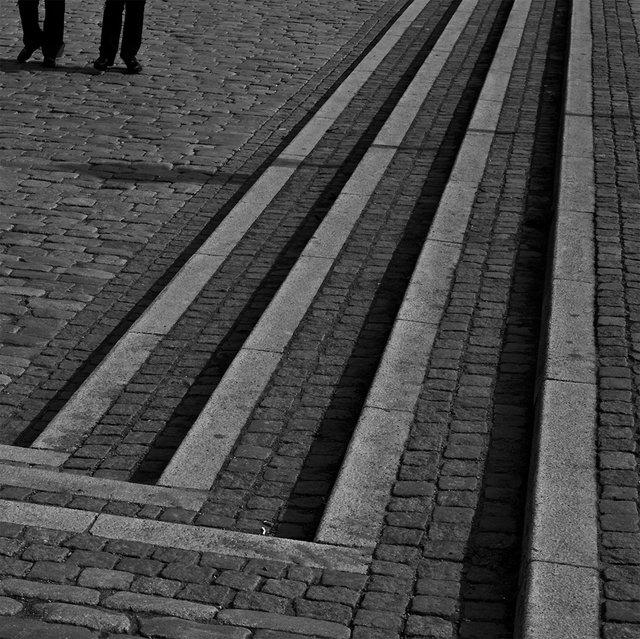 Gatstenar i kvadrat