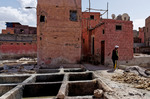 Garveriet i Marrakesh - vy mot sydöst