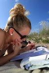 Sudoku på stranden