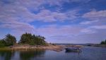 Sommarkväll i norra Roslagen