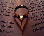 Ring som skapar hjärta