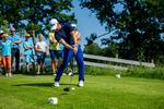 Golfclinic av USPGA-spelaren David Lingmerth