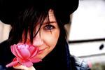 Flickan och rosen
