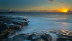 Solnedgång i Steninge