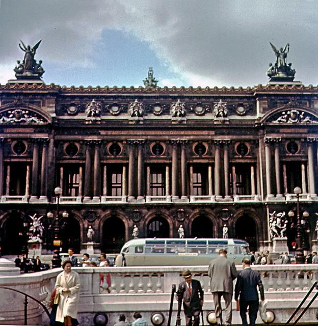 Parisoperan och nedgången till Metron 1960