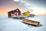 Vinter på Björholmen
