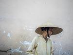 Äldre vietnamesisk kvinna