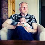 Elin och morfar.