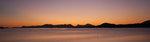 Västerålen i solnedgång