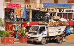 Vanlig gatubild i egypten
