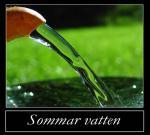 Sommar vatten