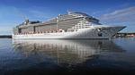 Kryssningsfartyget MSC Fantasia vid Stockholms Frihamn