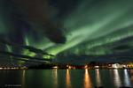 Aurora i natten