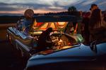 Solnedgång i Askersund