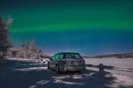 På norrskensjakt med Subarun