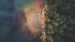 Soluppgång i sjögräset