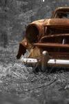En övergiven bil