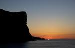 Soluppgång över Cap de la Nao