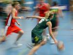 Basket med fart