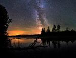 Stjärnljus över sjön