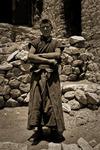 Broder Tuck i Chemre Gompa