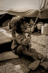 Kuchi-nomader utanför Guptu Ganga