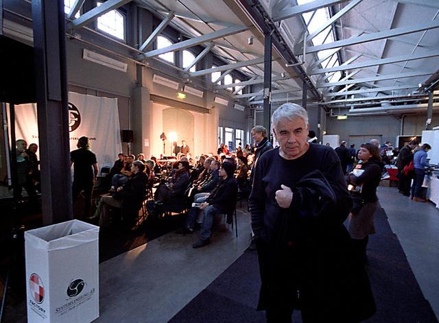 Gunnar Smoliansky  på Fotomässan 2006