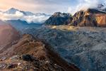 Sunrise at the Glacier