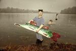 att fånga de stora fiskarna