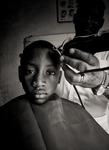 Hos frisören
