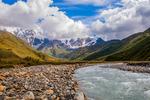 Rivers of Ushguli