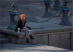 Red hair....