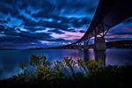 Sundsvalls bron en juni kväll 85 sec.