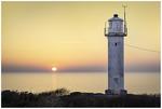 Påskig solnedgång vid Subbe fyr-2