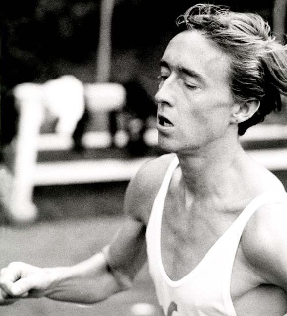 Porträtt av en löpare