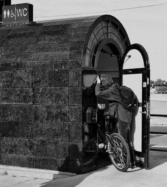 Nöden har ingen cykel
