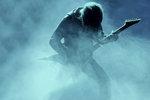 Gitarrist i dimman