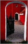 Röd ingång