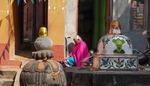 buddist innergård