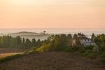 Morgon i Toscana