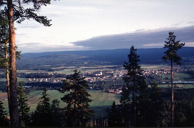 Utsikt-över-Färila 1965